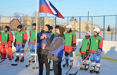 Открытие школьной спортивной площадки «Атлетик»