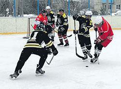 Закрытие сезона по хоккею с шайбой
