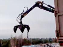 Незаконный вывоз мусора попал в объектив видеокамеры