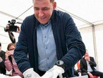 Евгений Куйвашев встретился с рабочими градообразующего предприятия ВСМПО-Ависма в Верхней Салде