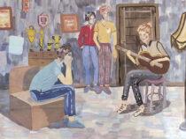 Выставка учащихся художественного отделения Детской школы искусств